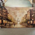 Paris wall art canvas