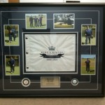 golf tournament custom frame