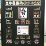 custom frame for hockey awards