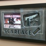 custom scarface frame