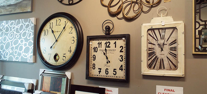Decorative Wall Clocks | Arcon Picture Frames