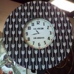 custom LA wall clock