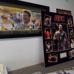 sports memorabilia custom frames