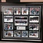 Custom winter classic photo frame