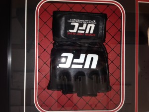 Custom Framed UFC Glove