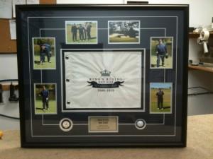 golf tournament custom frame