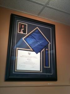 graduation custom frames