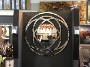 unique circular wall mirror
