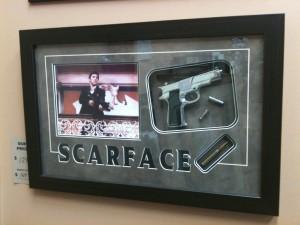 custom scarface frame