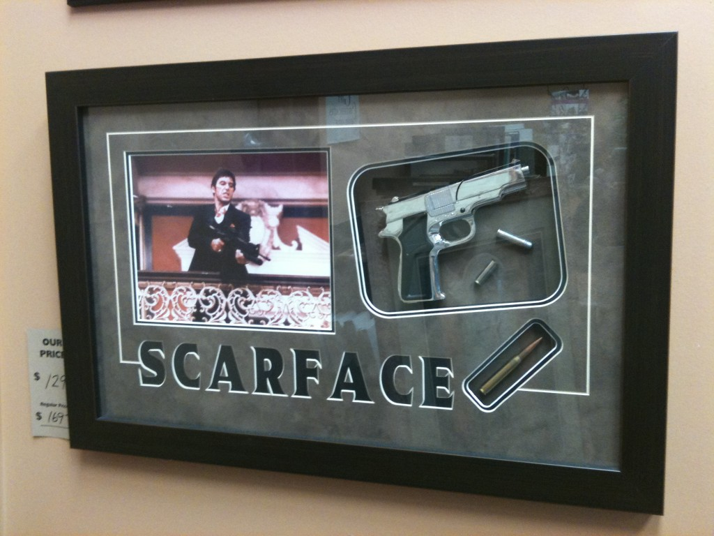 Scarface Shadowbox Arcon Picture Frames